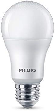 Lampada LED bulbo Philips, luz amarela, 4.5W, Bivolt (100-240V), Base E27