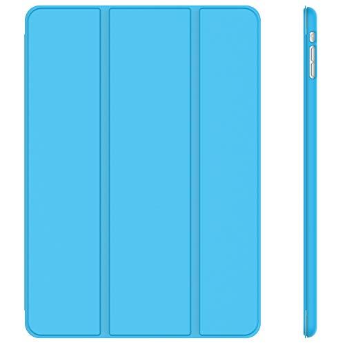JETech Case for iPad Mini 1 2 3 (NOT for iPad Mini 4), Smart Cover with Auto Sleep/Wake, Blue