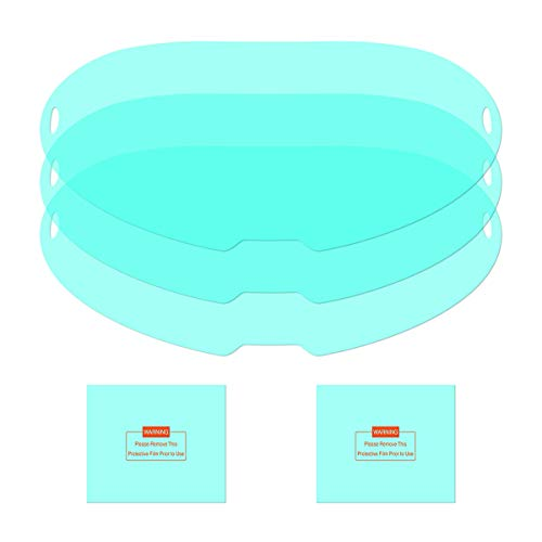 YESWELDER 3PCS Large Viewing Screen Outer Replacement Lens and 2Pcs Inner Replacement Lens for LYG-Q800D Welding Helmet
