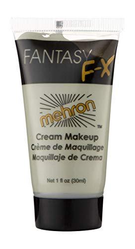 Zombie Grey Makeup Tube - Mehron Makeup Fantasy F/X Water Based