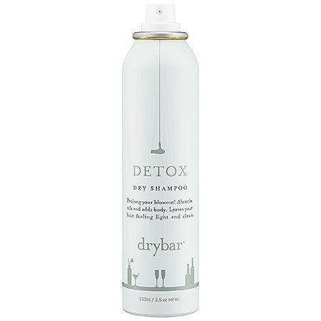 Drybar detox dry shampoo.