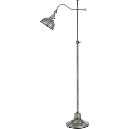 - Floor Lamps 1 Light Fixtures with Antiqued Silver Finish Metal Material E26 Bulb 25
