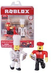 Roblox Series 1 Action Figure - Work at a Pizza Place - Comes with a Unique Code that can be Redeemed for Exclusive Virtual Item (Roblox Work At A Pizza Place Codes)
