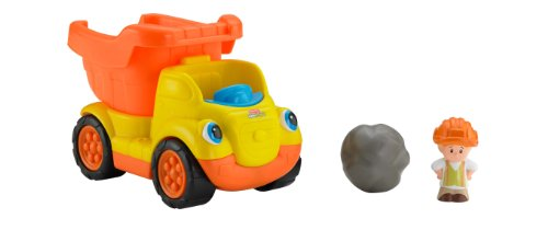 Fisher-Price Little People Rumblin Rocks Dump Truck (Little People Dump Truck)