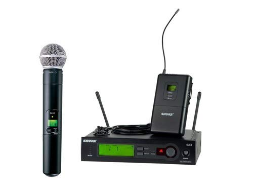 Shure SLX124/85/SM58 Combo Wireless System (Band H5)