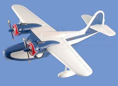 Grumman Goose Aircraft Model Mahogany Display Model / Toy. Scale: 1/29