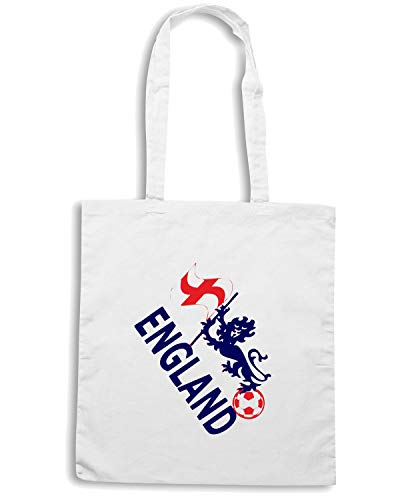 Speed Shirt Borsa Shopper Bianca WC0072 ENGLAND INGHILTERRA