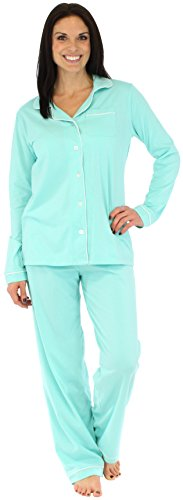 Sleepyheads Women's Sleepwear Jersey Stretch Long Sleeve Pajama Pj Set