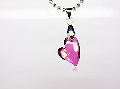 3a0aad16c31b7 Made with authentic Swarovski Crystals Lilac Crystal Pendant ...