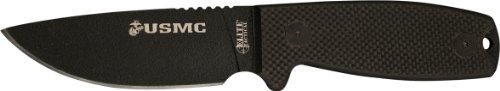 Elite Tactical US Marines M-1022BK Fixed Blade Knife, 8-Inch, Black