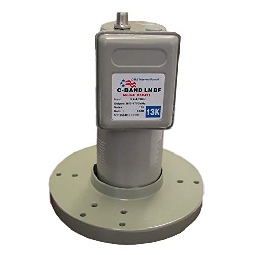 Mocei NEXspark C-Band LNB LNBF DMS BSC421 Single Digital, used for sale  Delivered anywhere in USA