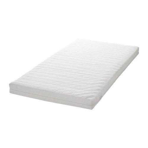 IKEA VYSSA SNOSA - Colchón para cama infantil, blanco - 70x160 cm: Amazon.es: Hogar