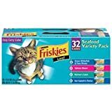 Friskies Seafood Variety Easy Carry Cube (32/5.5-oz cans), My Pet Supplies