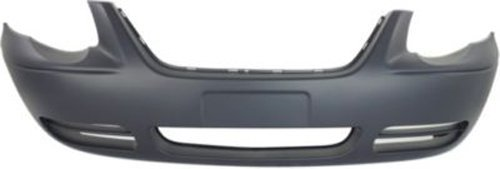 Crash Parts Plus Primed Front Bumper Cover Replacement for 2005-2007 Chrysler Town & Country