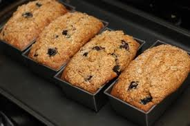 Zucchini Bread Blueberries Loaves Blueberry