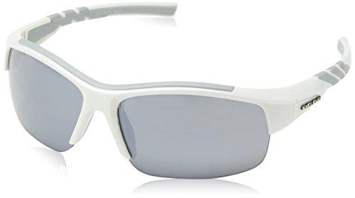 Eyelevel Meteor, Lunettes de Sport Homme, Blanc-Blanc (Blanc/Gris), Taille Unique