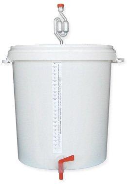 Brewferm fermentatore 30litri graduata con Airlock rubinetto e bottiglia di riempimento bastone BrewSmarter