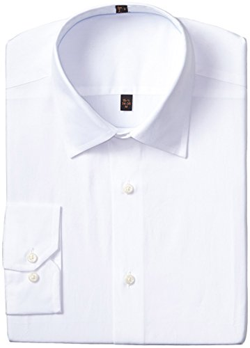 Ben Sherman Men's tailored slim fit Dress Shirt White 17.5