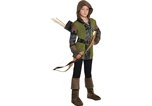 AMSCAN Prince of Thieves Robin Hood Halloween Costume for Boys, Medium, with Included Accessories by Amscan