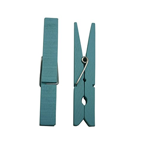 Aketek Wood Craft Clothespins with Spring 2.9