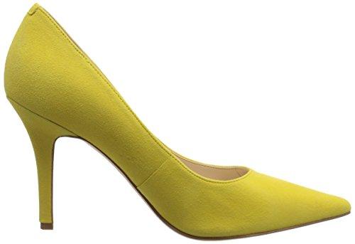 Bomba de Nine West Jackpot vestido de gamuza Suede Yellow