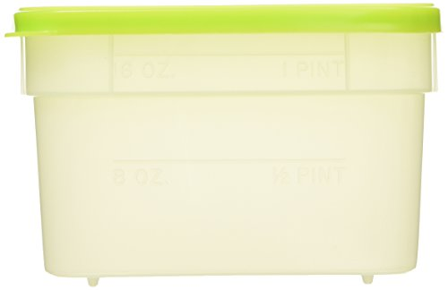 Arrow Plastic 00042 Stor Keeper Freezer Food Storage Container,5 containers with lids