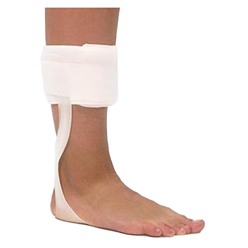 Orthomen Drop Foot Orthosis AFO Leaf Spring Splint (XL-Left)
