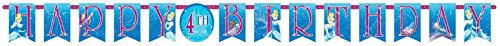 Disney Cinderella Customizable Birthday Party Banner Decoration (1