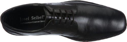 Josef Seibel Schuhfabrik GmbH Drake 42394 49 600 Herren Klassischer Schnürer Schwarz (schwarz 600)