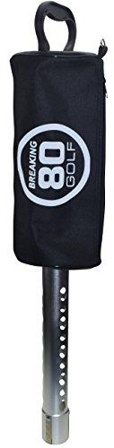 BREAKING 80 GOLF Shag Bag Practice and Range Golf Ball (Ball Shag Bag)