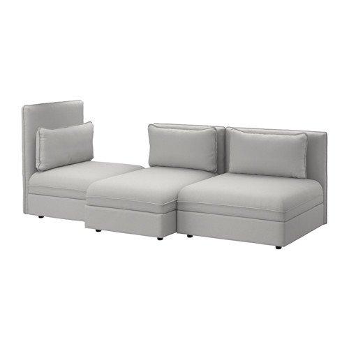 Ikea Sectional, 3-seat, Orrsta light gray , 6386.142920.1016