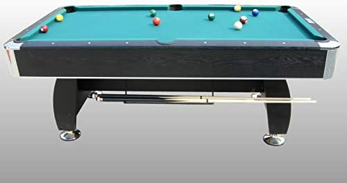 NG Biliardi Mesa de Billar reglamentaria Black Norman (paño Verde) – Carambola – (216 cm x 123 cm x 82 cm) – Completo con Todos los Accesorios: Amazon.es: Deportes y aire libre