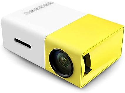Mini proyector, Bisozer YG300 portátil Pico a todo color del LED ...