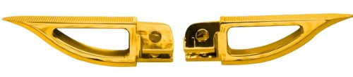 Yana Shiki A4289G Gold Rear Blade Style Foot Pegs for Suz...