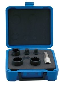 Nut Brake Adjusting (Assenmacher Specialty 6506 6 Piece VW/Audi Axle Nut Socket Set)