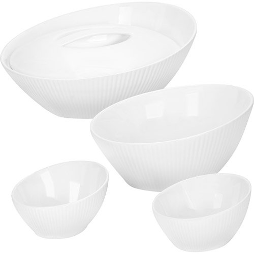 Corningware Scandia White 5 Piece Bakeware Set