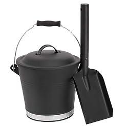Aboniris Mini Ash Bucket with Shovel and...