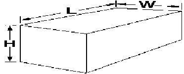 Ameri-Kart W0116 Water Tank - 63 Gallon Capacity
