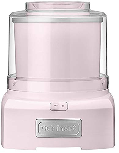 Cuisinart ICE-21PBLK Frozen Yogurt - Ice Cream & Sorbet Maker - Pink