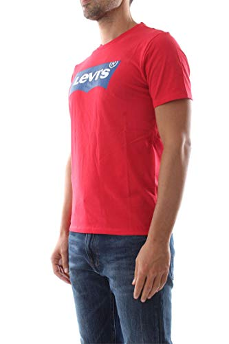 Rouge Graphic Levi's Tee Housemark Homme shirt T ZYqOw7