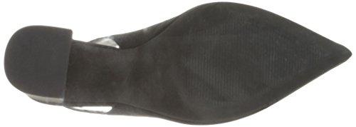 Sandalia Steve Madden Dove en gamuza negro Negro