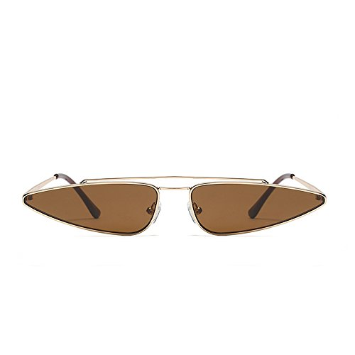 Unique Eye Brwon Women Small UV Anti Sunglasses Sun Glasses Fashion Cat Retro Vintage FwXOq6nq
