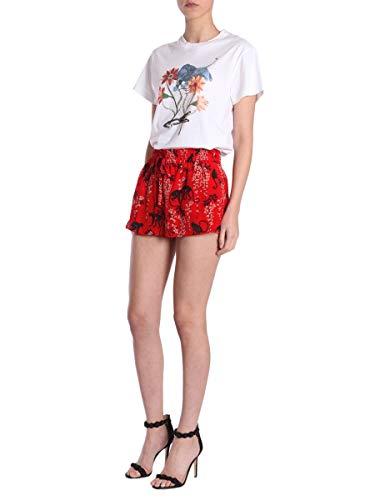 Shorts Mujer Seda Red Pr0rf1353n0fu7 Valentino Rojo S0Xwf