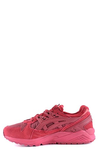 ASICS Women's MCBI028001O Red Suede Sneakers outlet cheap online affordable cheap price discounts sale online ddFgV