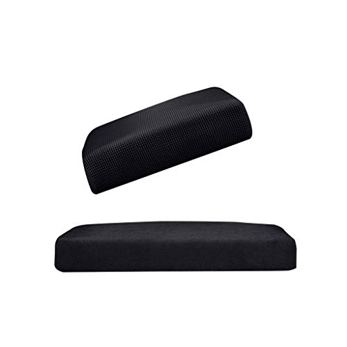 B Blesiya 2Pieces (Black_Size S &M) 0Elastic Sofa Futon Seat Bench Cushion Slip Cover Couch Slipcover Protector Replacement Garden Furniture from B Blesiya