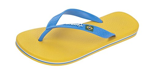 Ipanema Flag, Herren Zehentrenner Sandalen Yellow/Blue