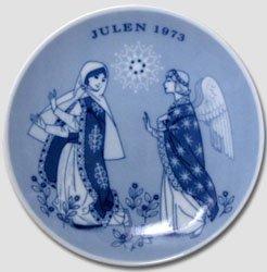 1973 Porsgrund Christmas Plate - Promise of ()