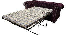 Designer Sofas4u Chesterfield 2 plazas Sofá Cama o sofás ...