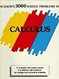 3,000 Solved Problems in Calculus (Schaum's Outline)