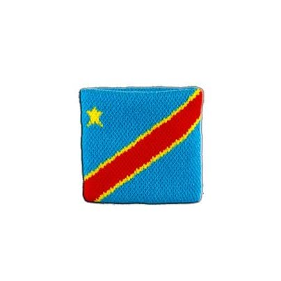 Digni reg Democratic Republic the Congo Wristband sweatband Set pieces free sticker Estimated Price £6.95 -